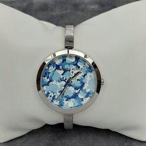 Michael Kors Blakley Silver-tone/Blue Watch